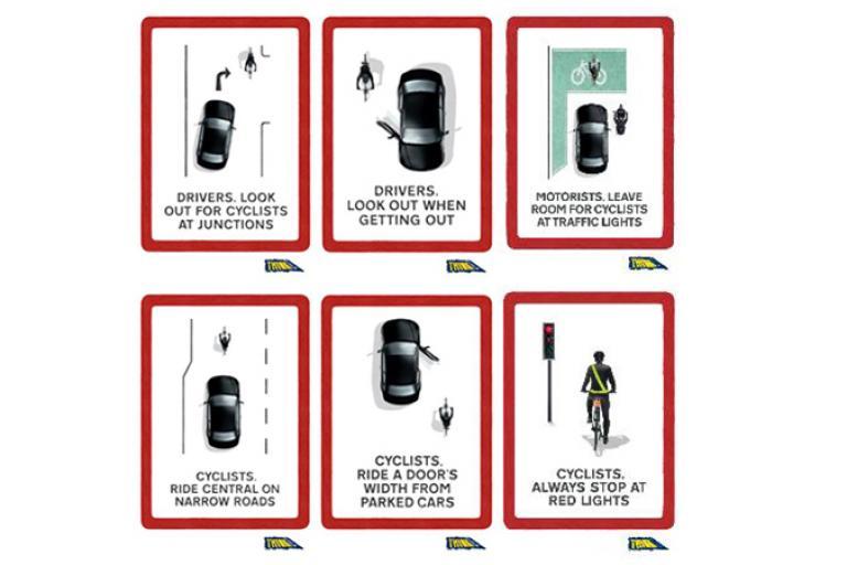 think cyclist