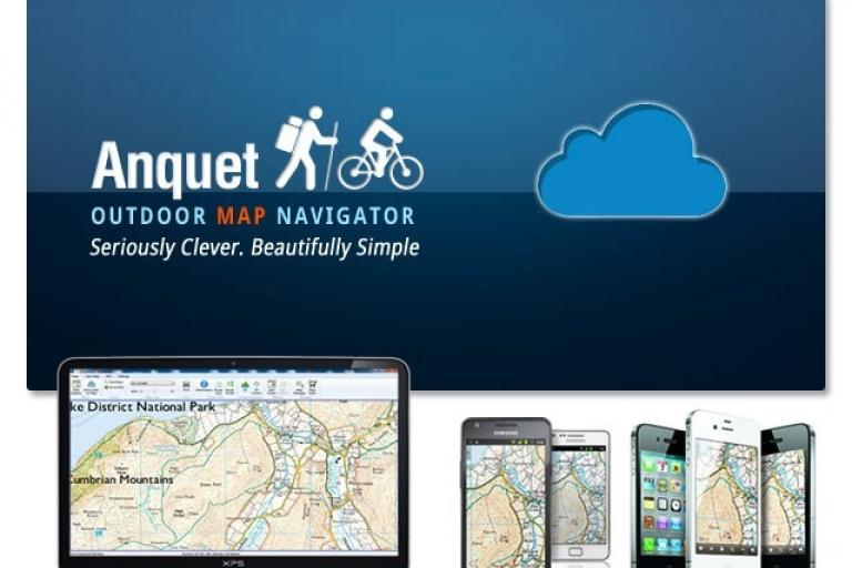 Anquet Outdoor Map Navigator