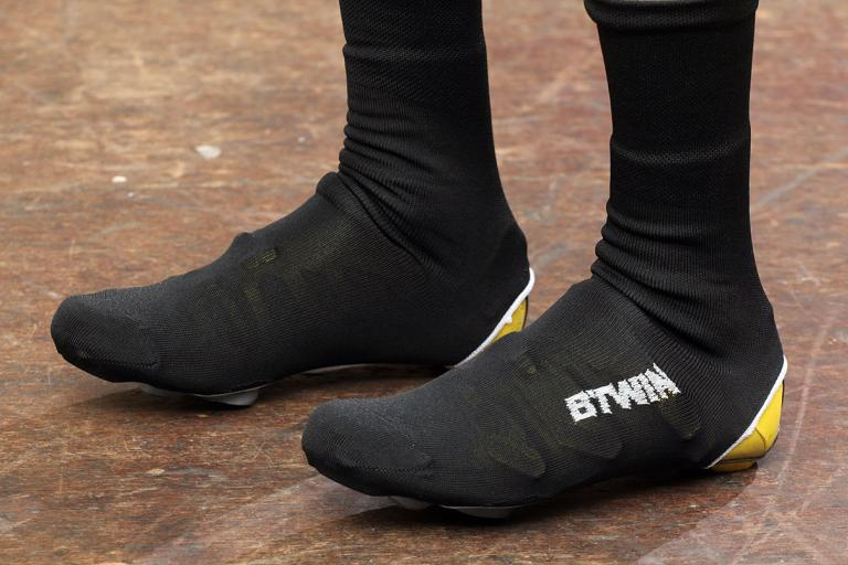 BTwin Black Knit Shoe Covers