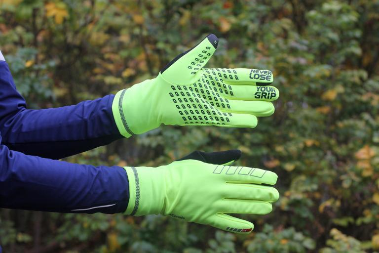 GripGrab Insulator Hi-Vis gloves