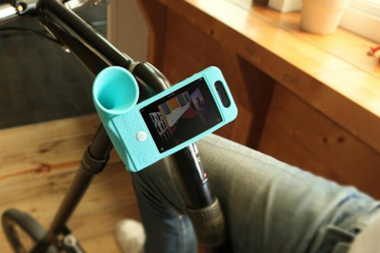 Horn Bike iPhone handlebar mount