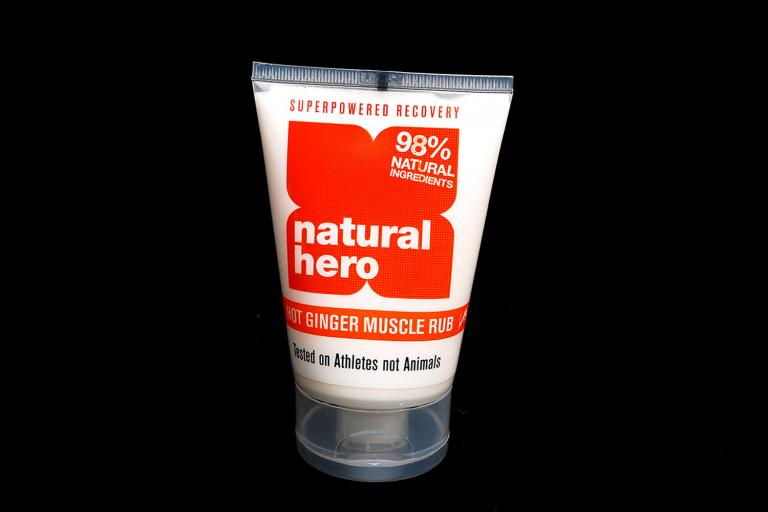 Natural Hero Hot Ginger Muscle Rub