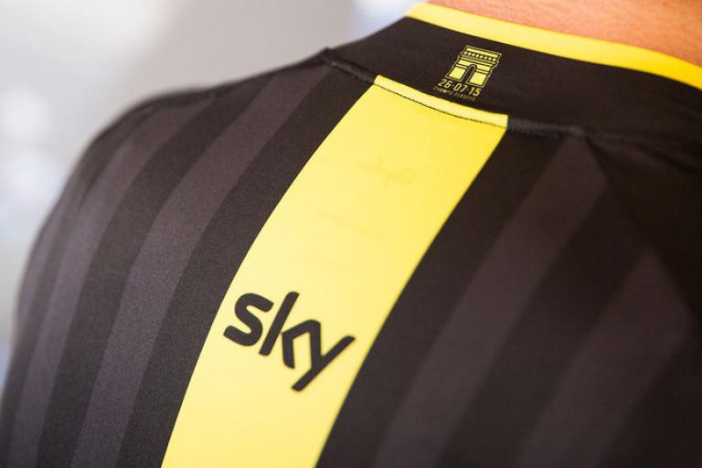 Rapha releases Team Sky Victory Pro Team Jersey3