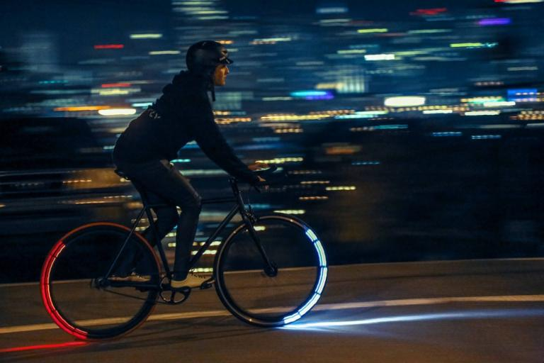 Revolights City Wheels Riding.Photo by Glen McKenna
