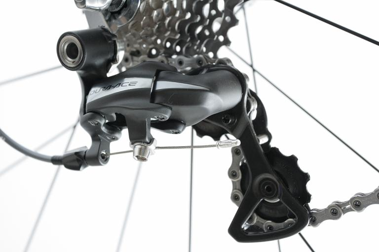 Shimano Dura Ace rear mech close-up 2