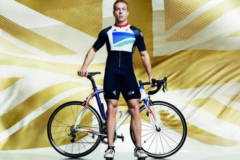 Team GB 2012 kit Sir Chris Hoy