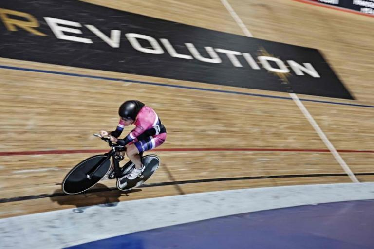 Sarah Storey training