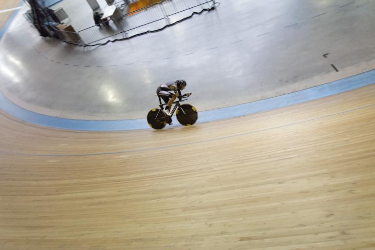 Thomas Dekker Koga Hour Record attempt bike 34