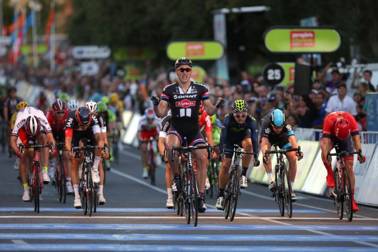 TDU 2015 People's Choice Classic 03 Kittel wins picture credit Regallo