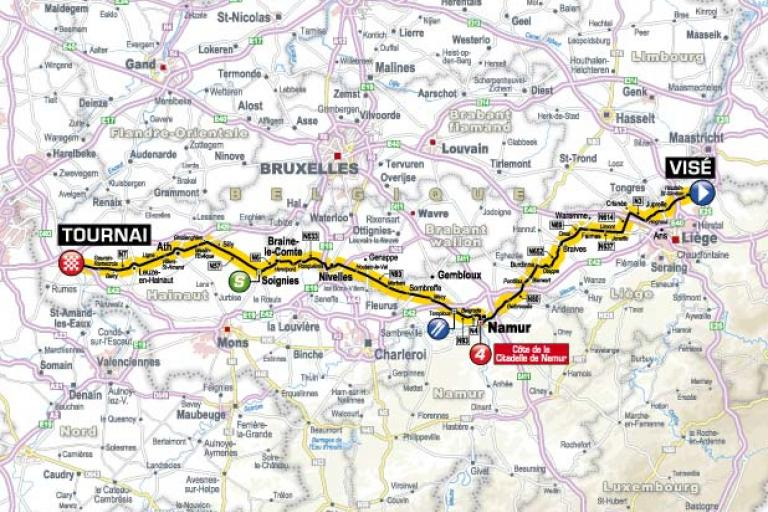 TDF 2012 S2 map