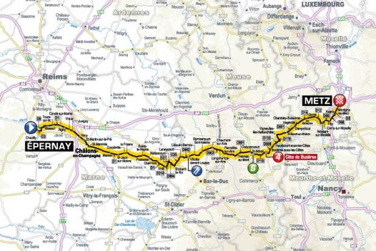 TDF 2012 S6 map