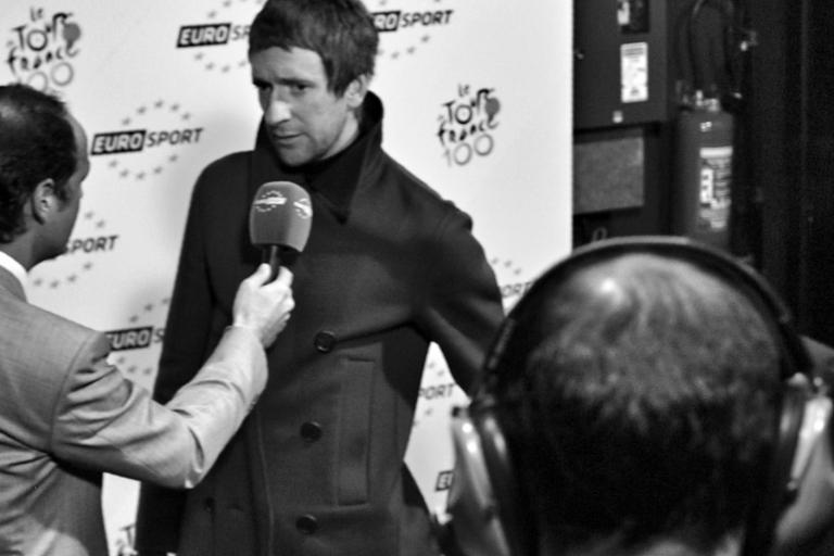 04 Bradley Wiggins at the TDF 2013 launch © Simon MacMichael
