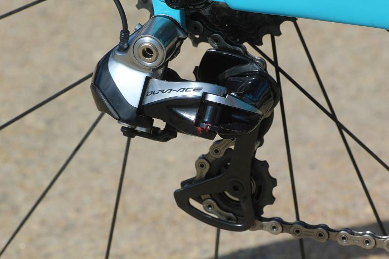 Trek Madone 9 series - rear mech