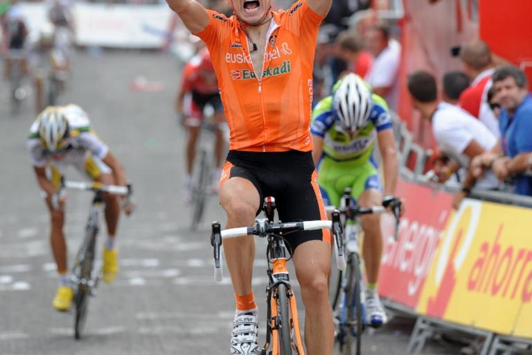 Igor Anton wins Stage 4 of the 2010 Vuelta (copyright Unipublic/Graham Watson)