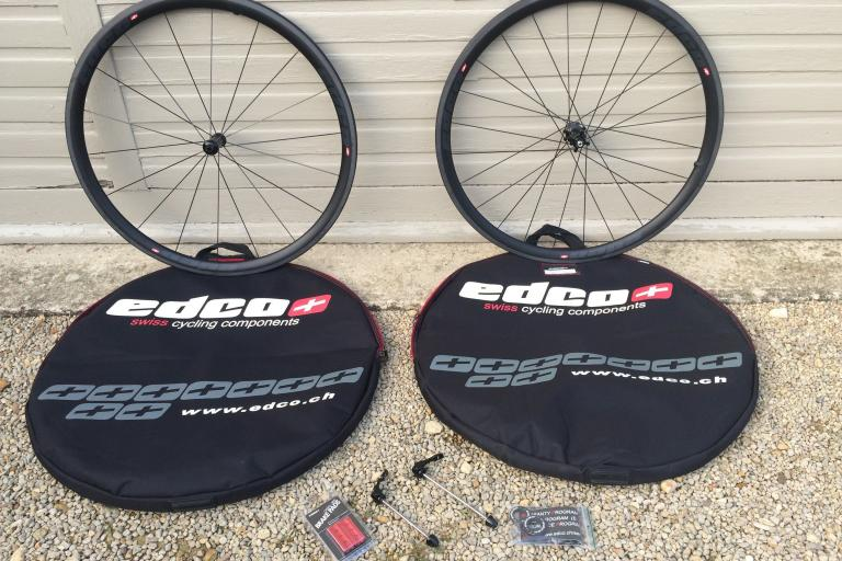 EDCO carbon fibre wheelset Brand new bargain