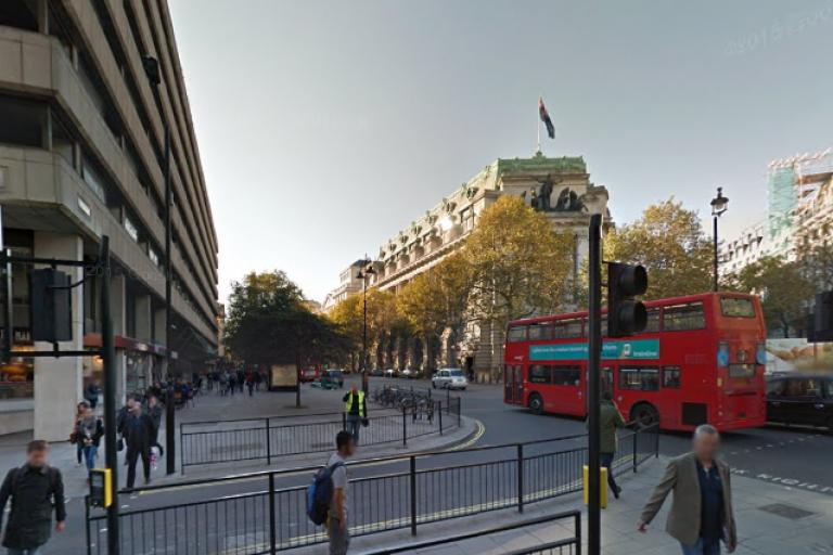 Junction of Strand and Arundel Street (source Google Street View).PNG