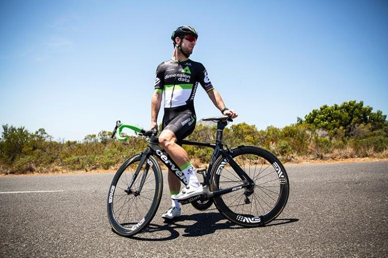 Mark Cavendish in Dimension Data 2017 kit (picture credit Scott Mitchell).jpg
