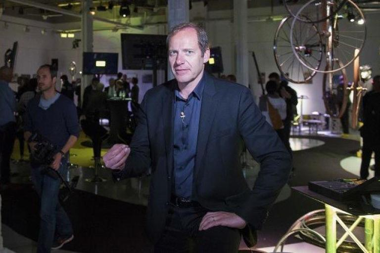 Mavic 125th anniversary celebration - Christian Prudhomme 2.jpg