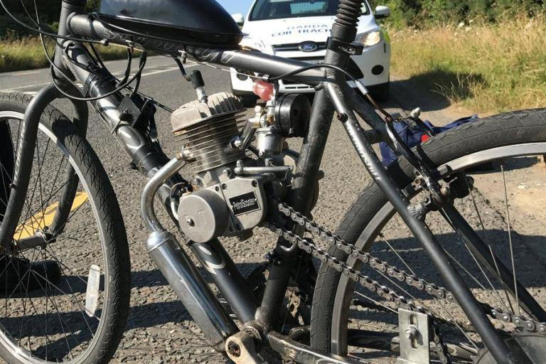 Mountain bike with engine (Garda Traffic).jpg