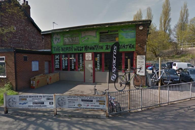 North West Mountain Bike Centre (image taken from Google StreetView).jpg
