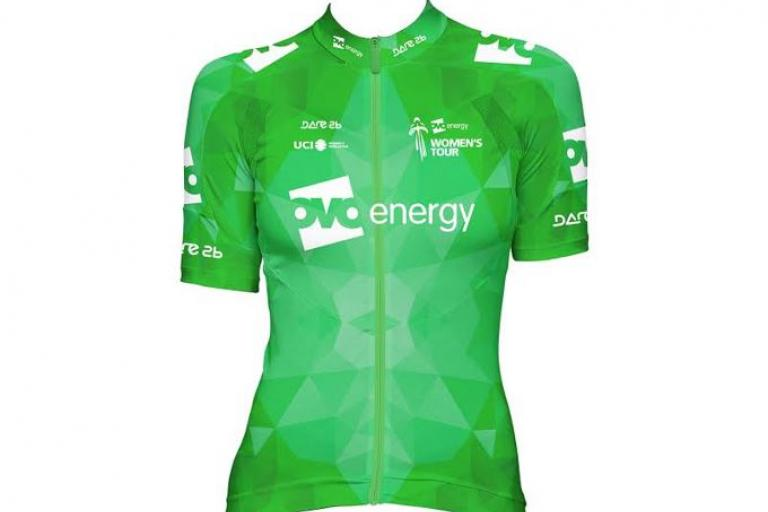 OVO Energy Women's Tour leader's jersey.JPG