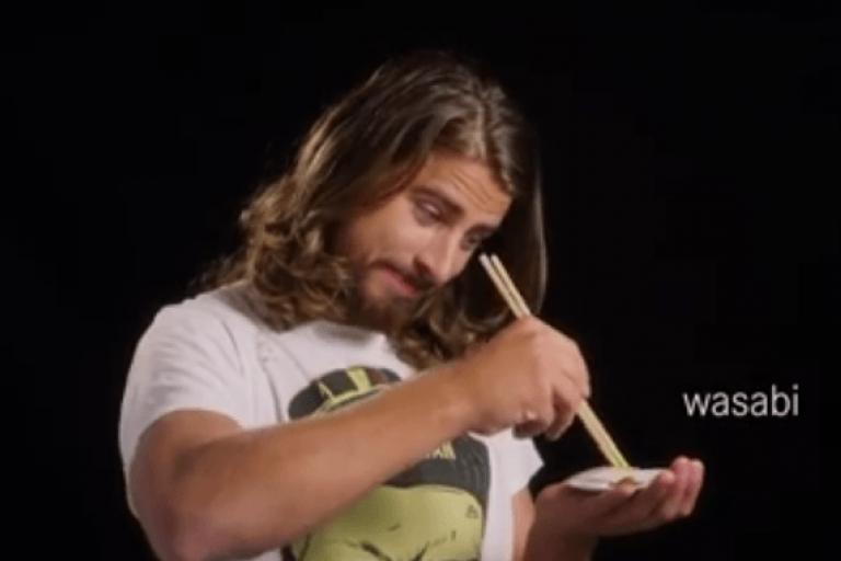Peter Sagan, sushi chef (Bora Facebook video still).PNG