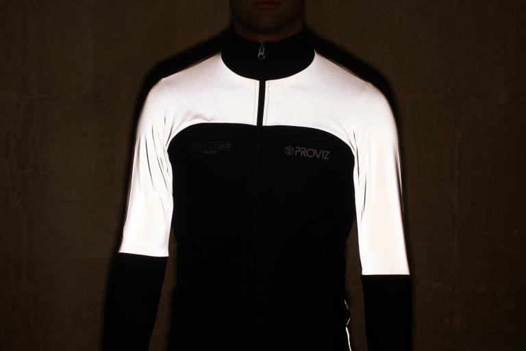 Proviz Reflect 360 Elite Mens Cycling Jacket - reflective 2.jpg