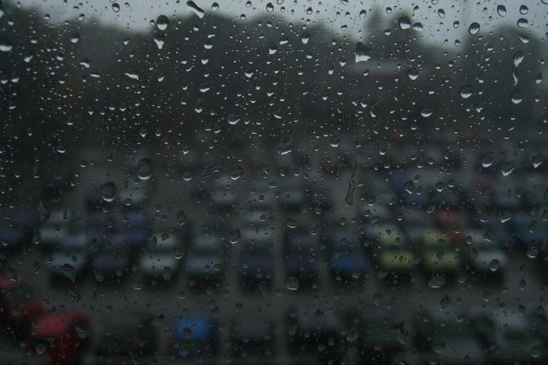 Rainy office car park (CC licensed by Pat Scullion via Flickr).jpg