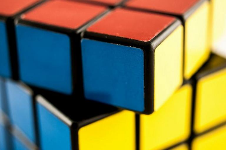 Rubik's Cube (licensed CC BY-2.0 on Flickr by Wiolliam Warby).JPG