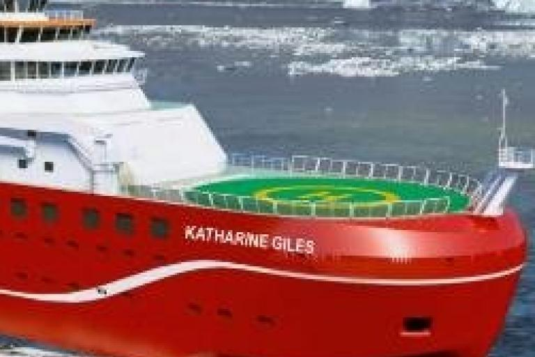 Katharine Giles research vessel naming campaign