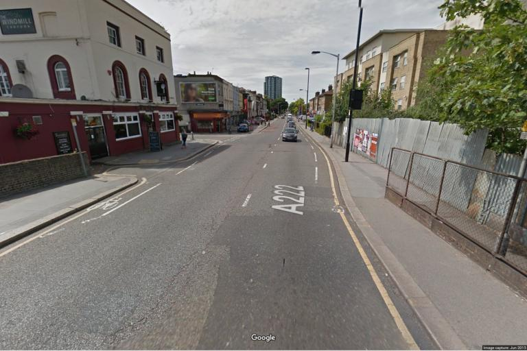 A222 St James' Road (Google Maps image)