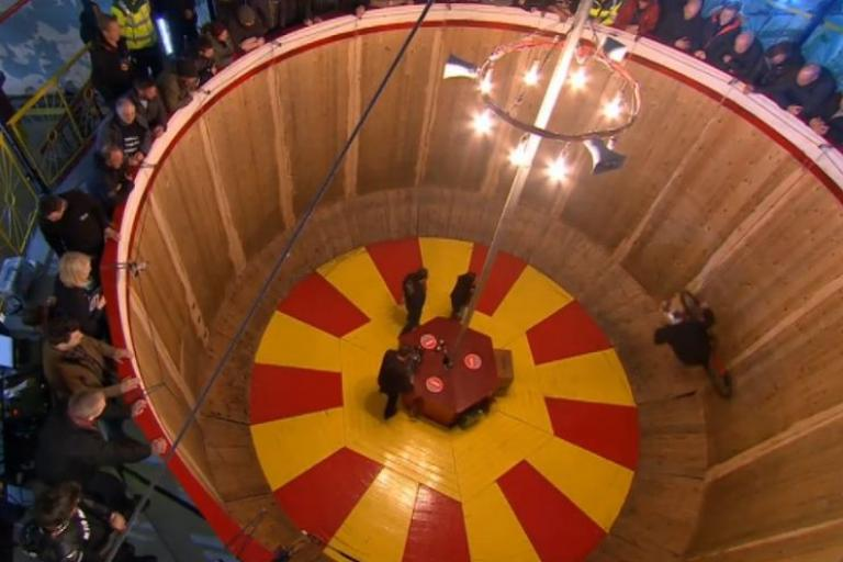 Shanaze Reade rides Wall of Death (Channel 4 video still).JPG