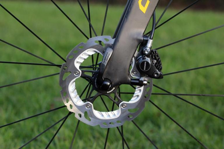 Shimano BR-R785 road hydraulic discs - front disc.jpg