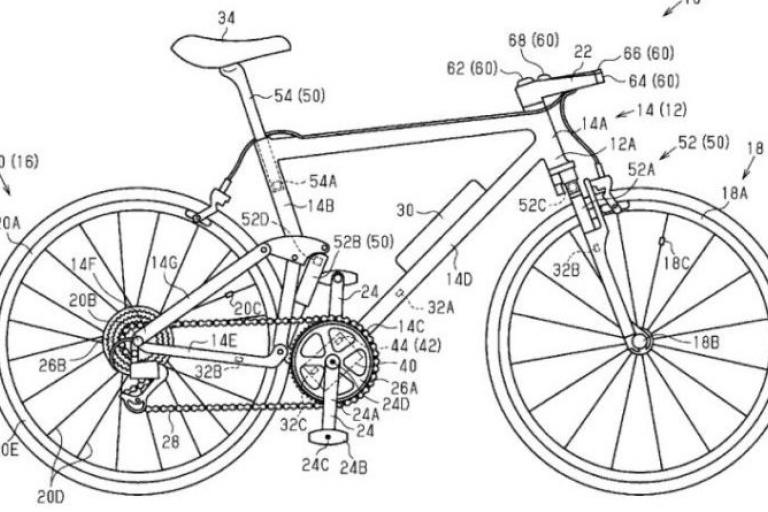 shimano bicycle control system patent