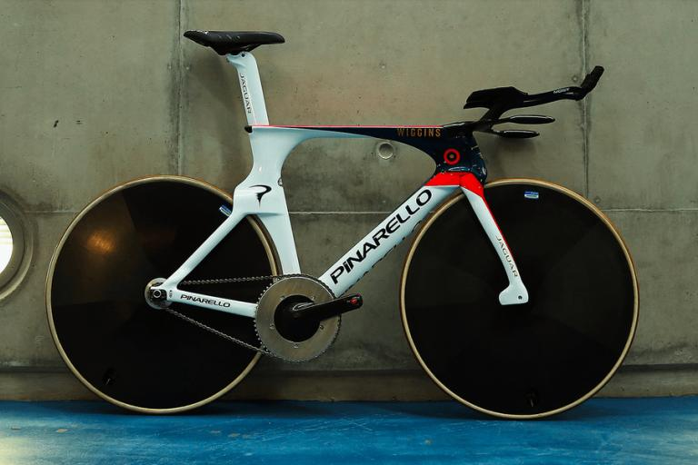 Sir Bradley Wiggins Hour Record bike (picture credit Cicli Pinarello).PNG