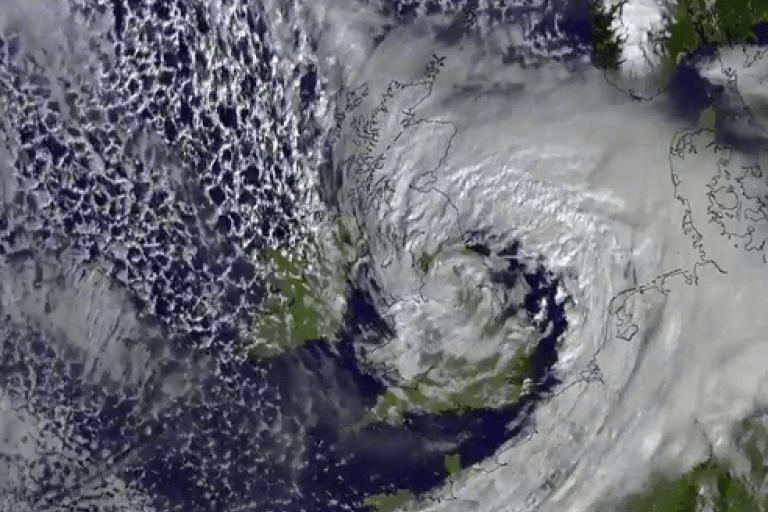 Storm Doris, February 2017 (satellite image via Met Office on Twitter).PNG