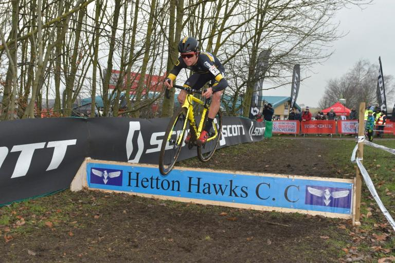 Tom Pidcock at 2018 cyclo-cross nationbal championship (picture 5311 Media).jpg