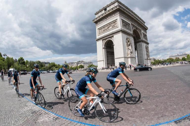 Le Tour - One Day Ahead 2015 Arc de Triomphe (picture credit Joolze Dymond).jpg