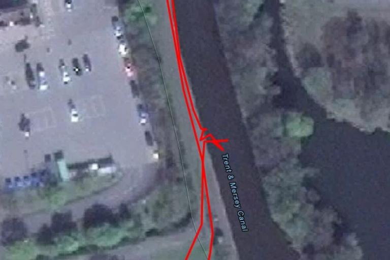 Unscheduled detour into the Trent and Mersey (taken from Google Maps via Strava).jpg