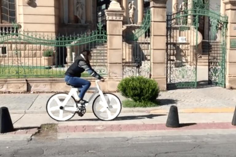 Urban GC1 recycled paper bike - image via Greencode Kickstarter.PNG